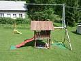 Privát Katka - záhrada, detské ihrisko